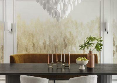 St Louis Interior Designer Jessie D Miller Clayton Road No. 2 1 Dining Room