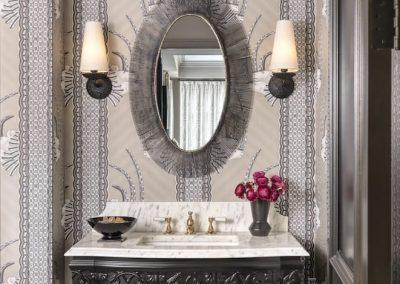 St Louis Interior Designer Jessie D Miller Clayton Road No. 2 3 Powder Room